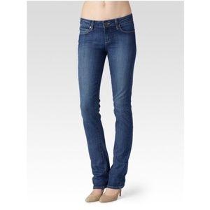 Paige Skyline Straight 'Descend' Medium Wash Jeans
